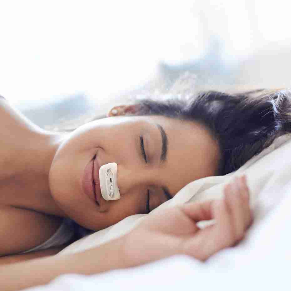 SleepAero - First Rechargeable Anti-Snoring Device - Stop Snoring Today