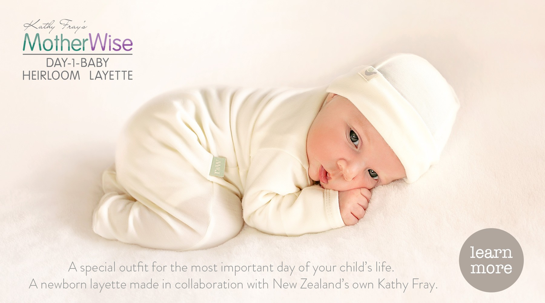 Newborn baby merino recommended by midwives