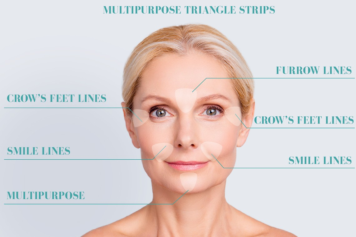 How to Wear Blumbody Face Smoothing Patches