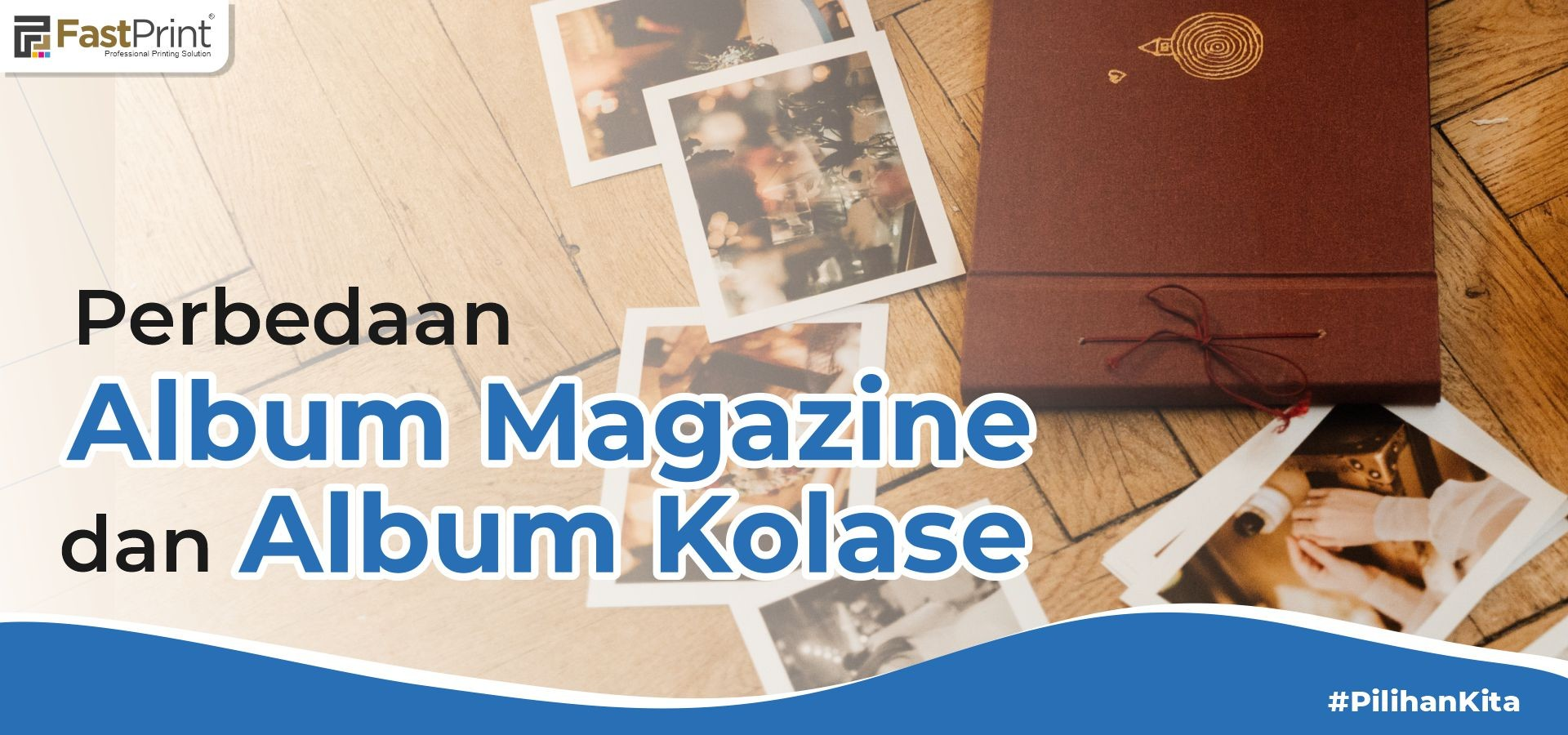 album magazine, album kolase, perbedaan album magazine dan album kolase