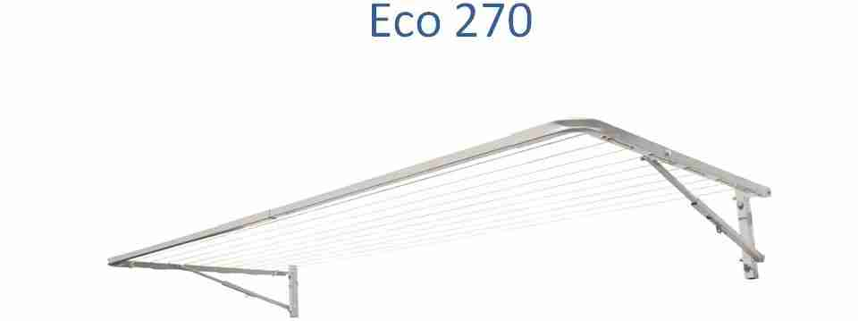 Eco 270 2600mm wide clotheslines