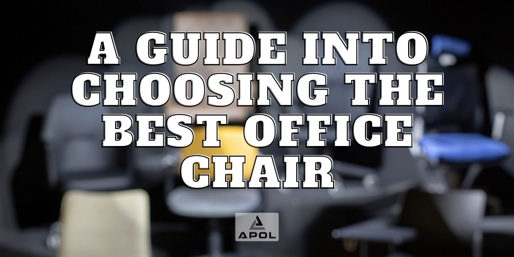 banner for blog on a guide for choosing the best office chair