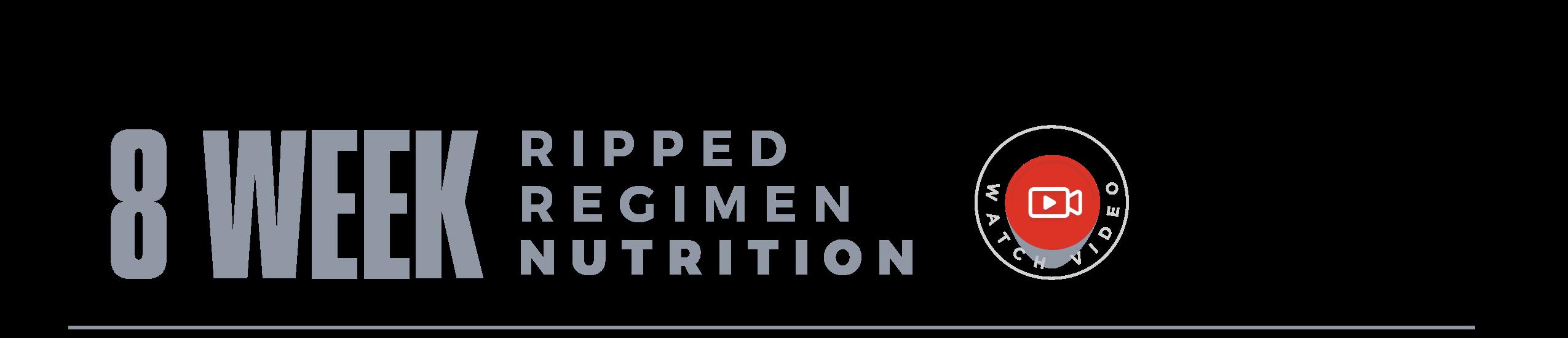 8 Week Nutrition