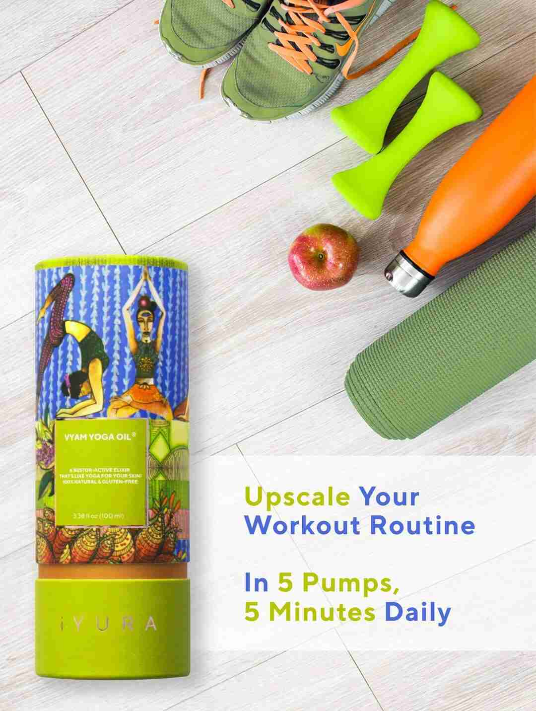 Upscale your workouts with Vyam Yoga Oil