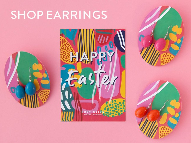 Shop Easter Egg Earrings