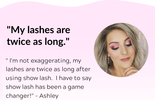 show lash, eyelash growth serum, lash growth serum, eyelash serum, LeVaye' Cosmetics, lash serum