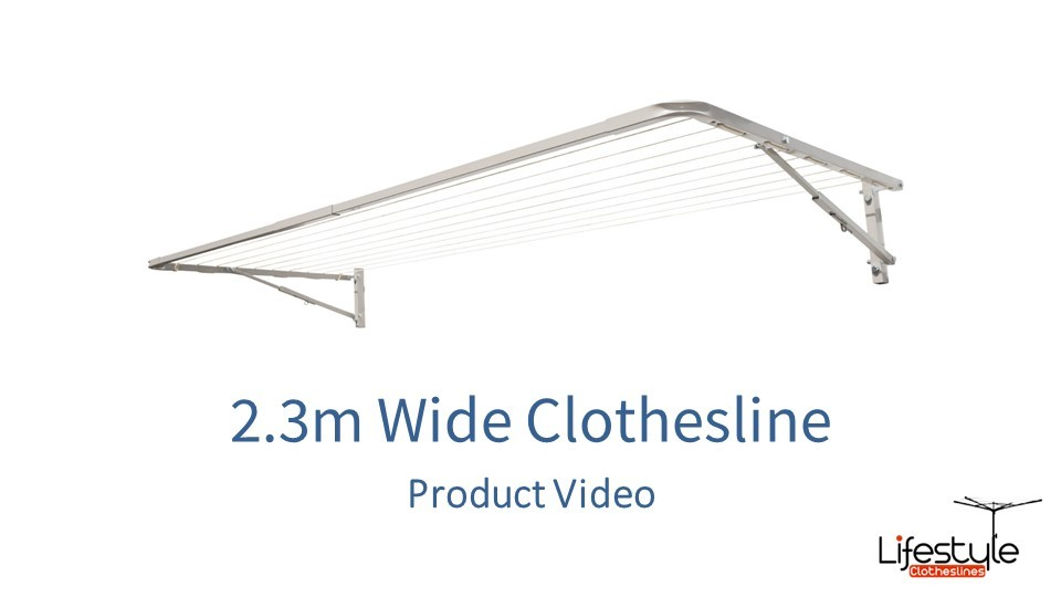 2.3m wide clothesline product link