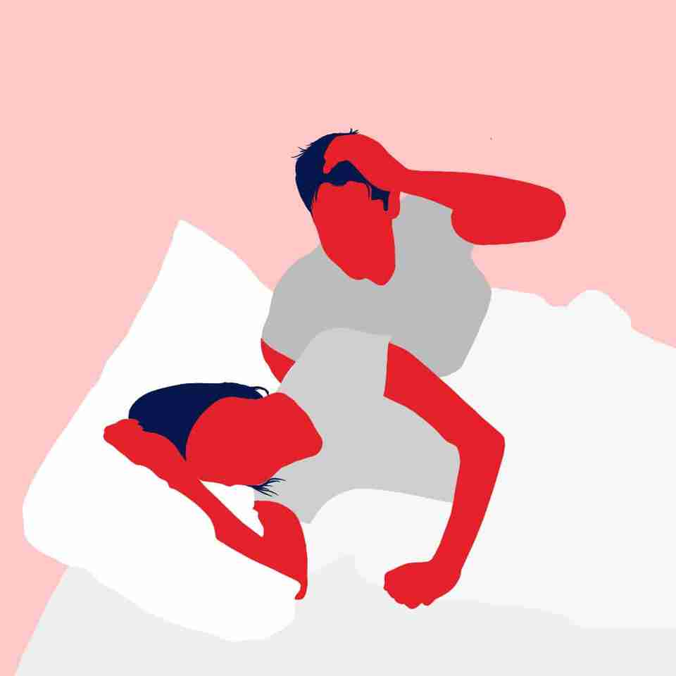 Only climb into bed when you are ready to sleep, to avoid disturbing your partner who might already be sleeping.