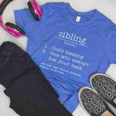 Sibling T-shirt for kids