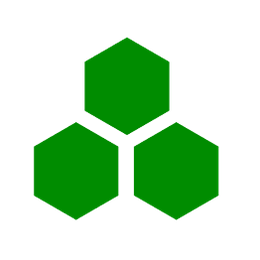 picture of three hexagons