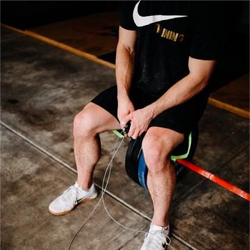 Garage Sweat Jump Rope