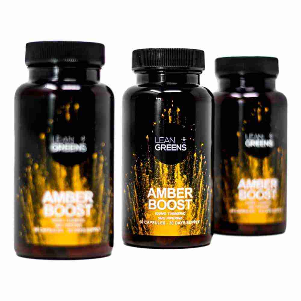 Amber Boost Turmeric and Vitamin D3