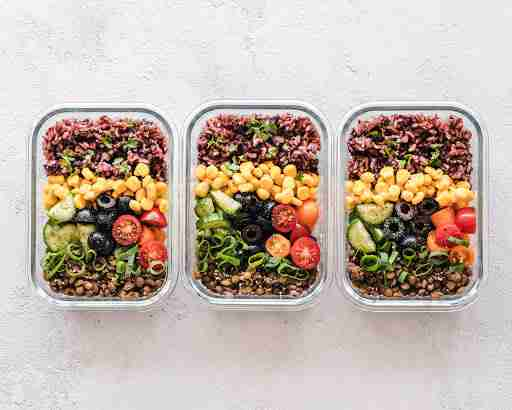 healthy meal prep container bowls