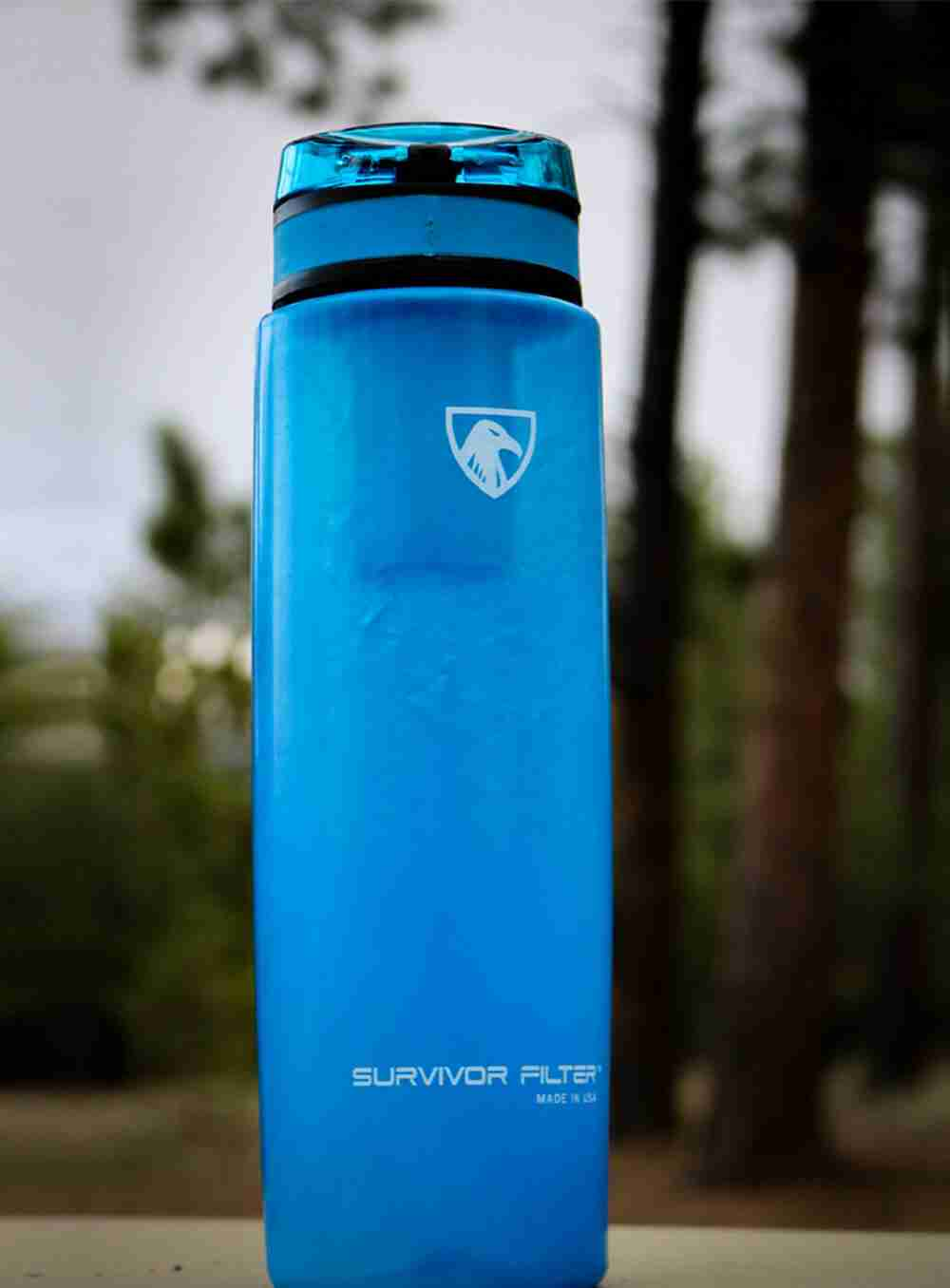 The active, on-the-go professional or kid ACTIVE Filtration Bottle