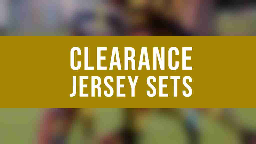 Clearance Jersey Sets
