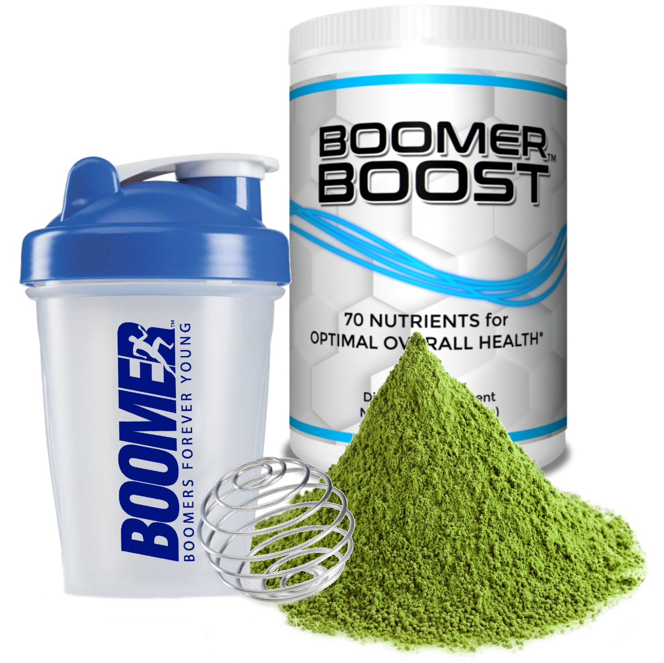 Boomer Boost best green drink