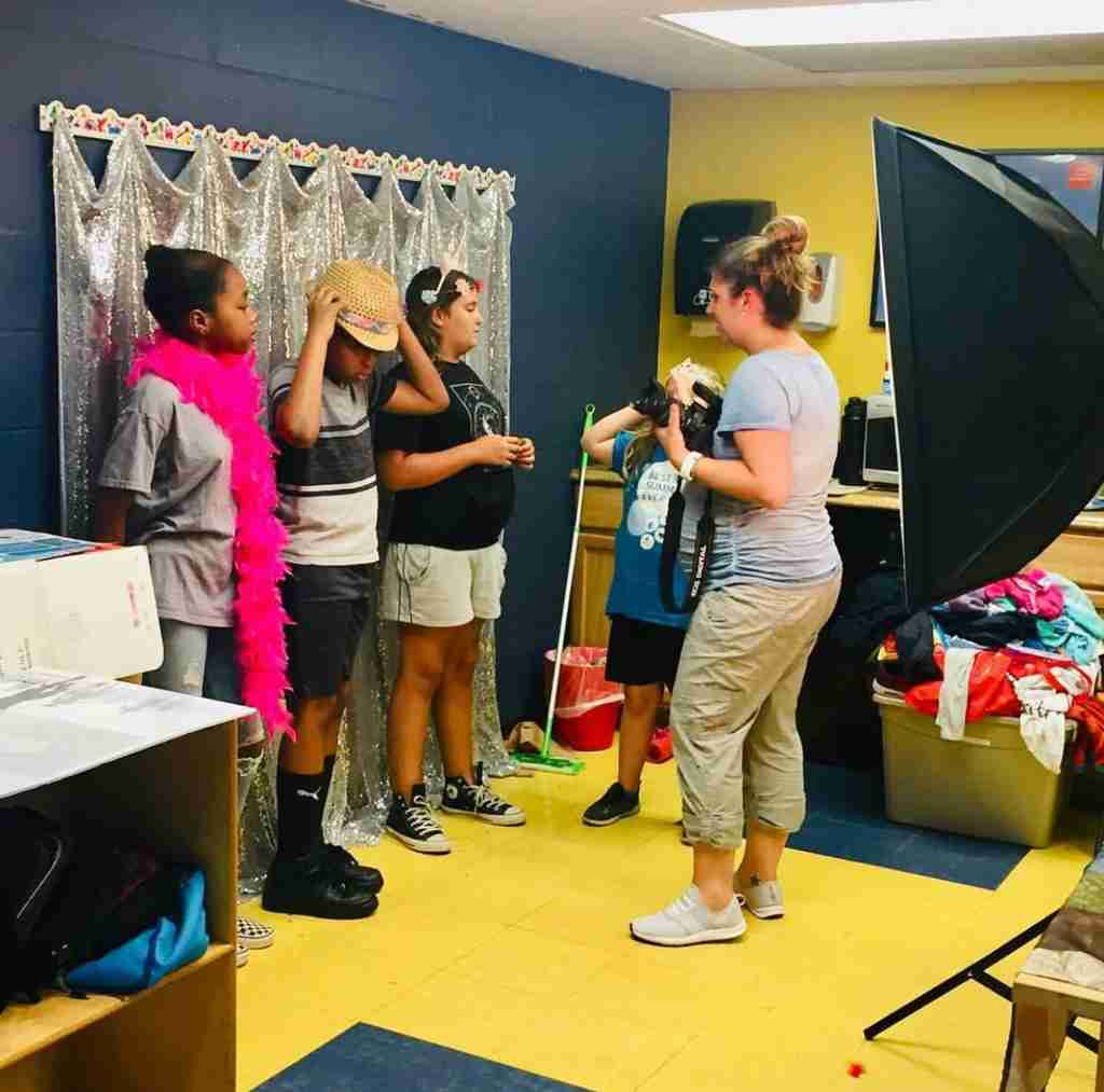 teach kids photography camp