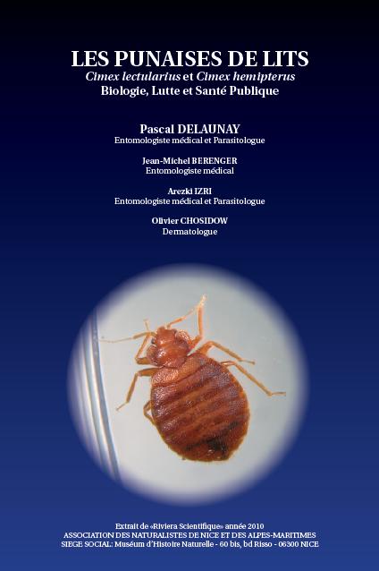 livre delaunay punaises de lit