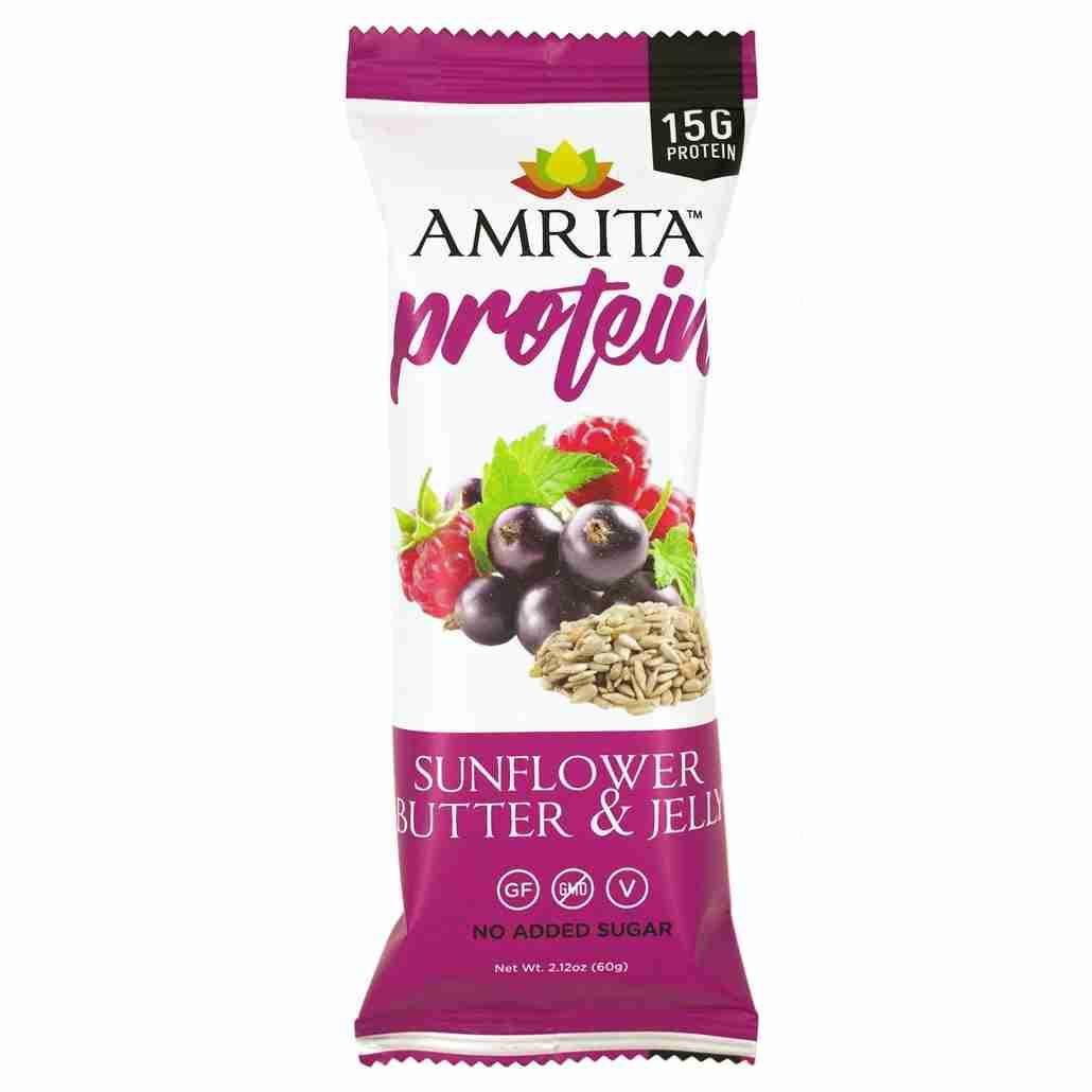 Amrita Sunflower Butter & Jelly Protein Bar
