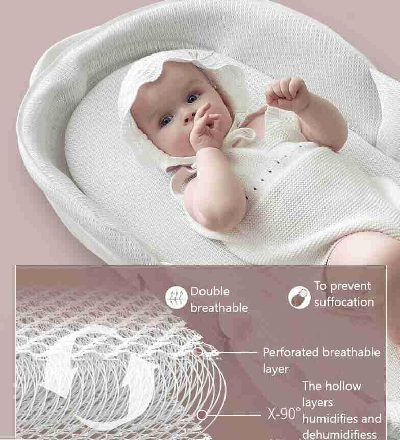 Newborn Baby Crib - Infant Kingdom