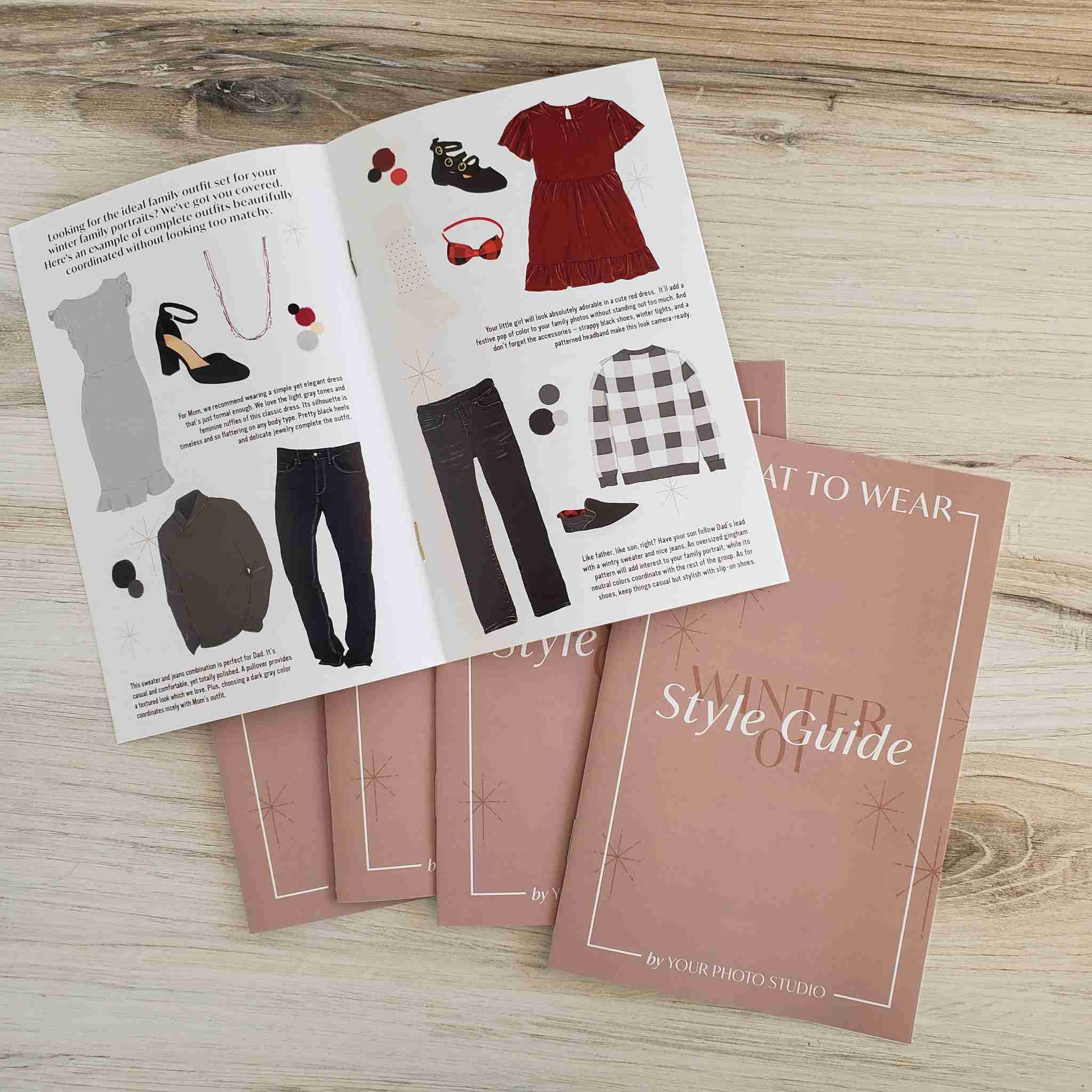 What to Wear Photography Welcome Guide Template