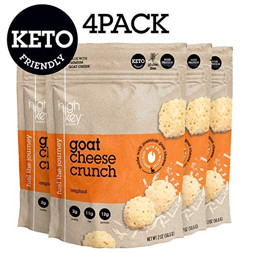 HighKey Goat Cheese Crunch Keto