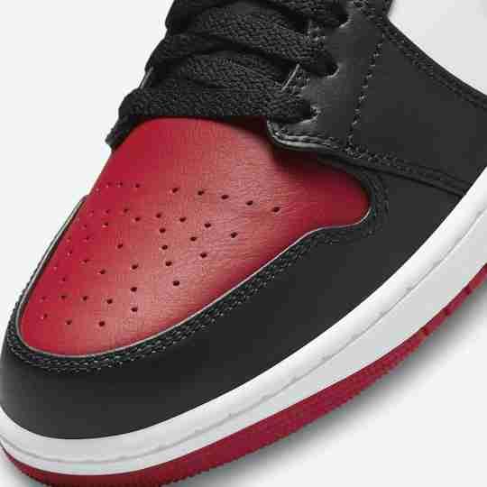 Bred Toe Air Jordan 1 Low