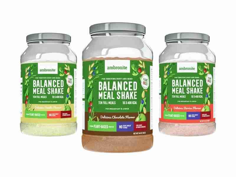 Balanced Meal Shake Vanilja, Berries ja Suklaa Maut