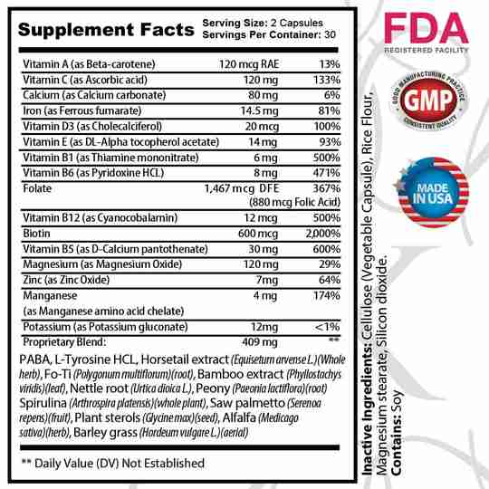 Supplement Facts - Chat With Us To get More Details