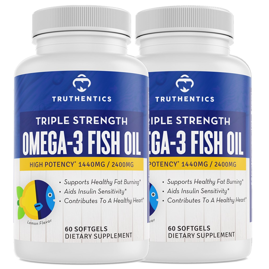 Omega-3 Fish Oil (60 Count)