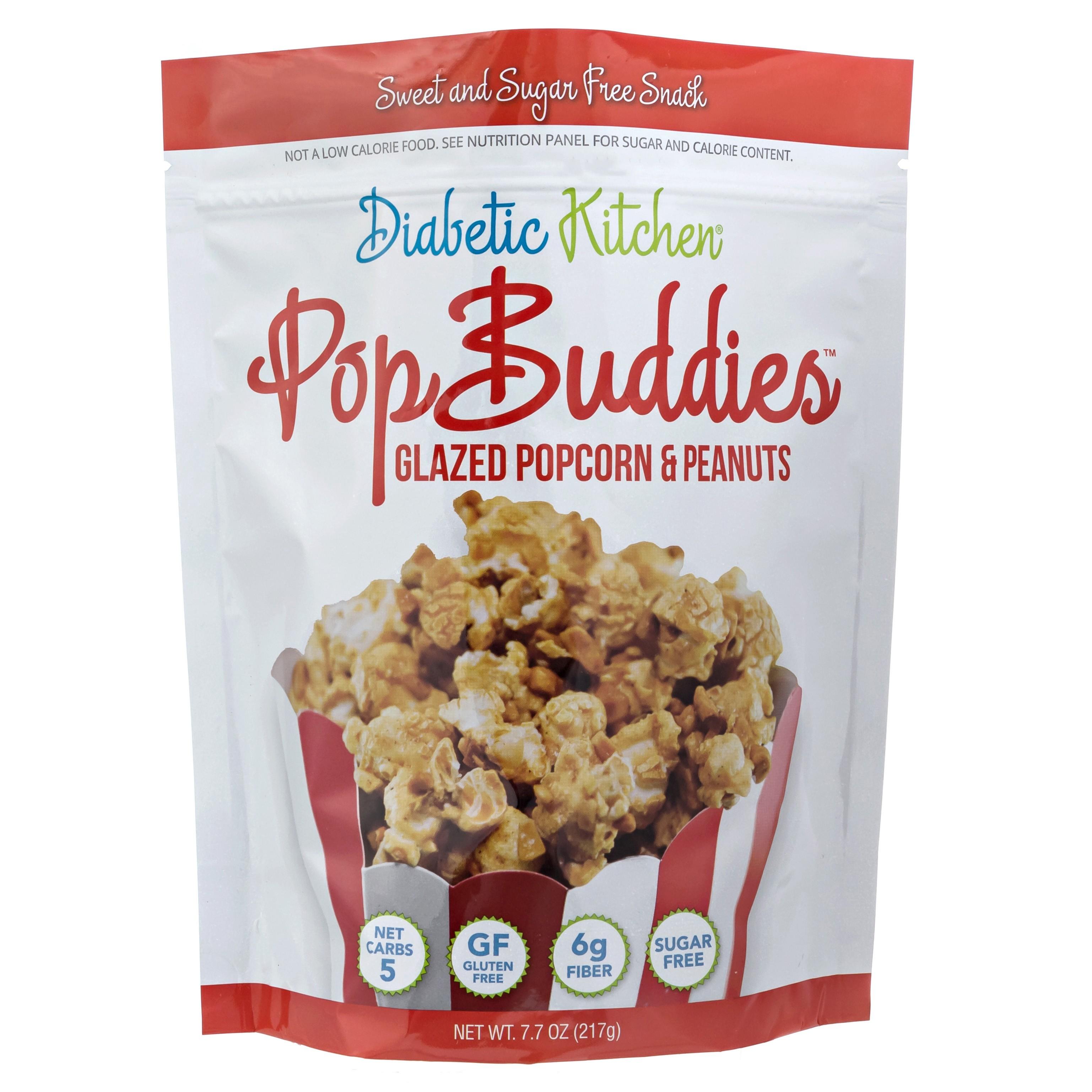 PopBuddies Sugar Free Glazed Popcorn & Peanuts