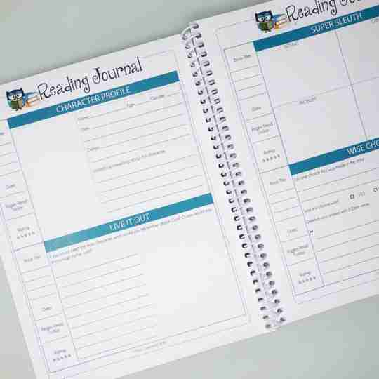 home school Reading Journal