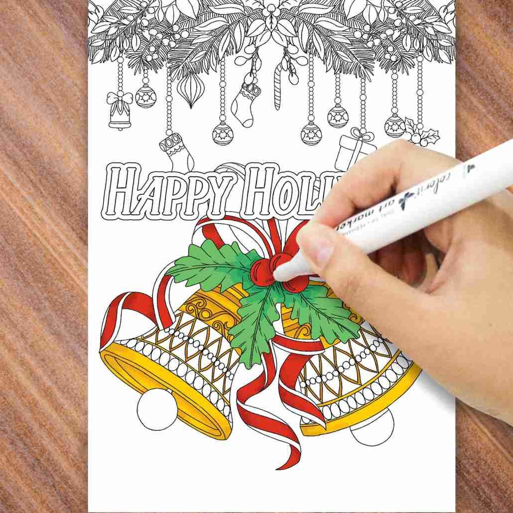 ColorIt Holiday Greeting Cards