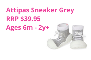 Attipas Toddler Shoes in Sneaker Grey