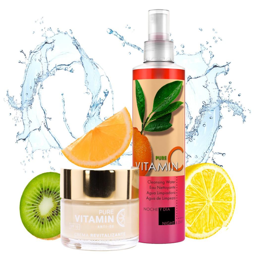 Revitalizing Face Cream & Makeup Removing Cleanser Set