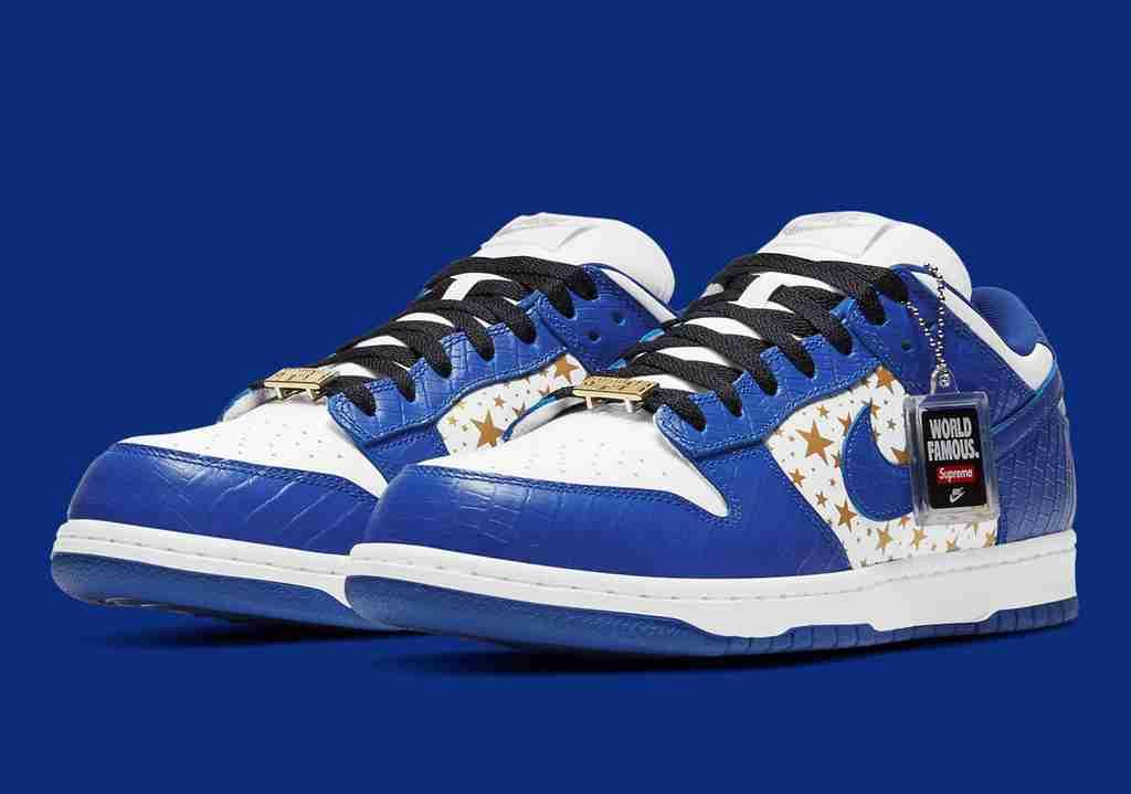 Supreme Nike SB Dunk Low Hyper Blue