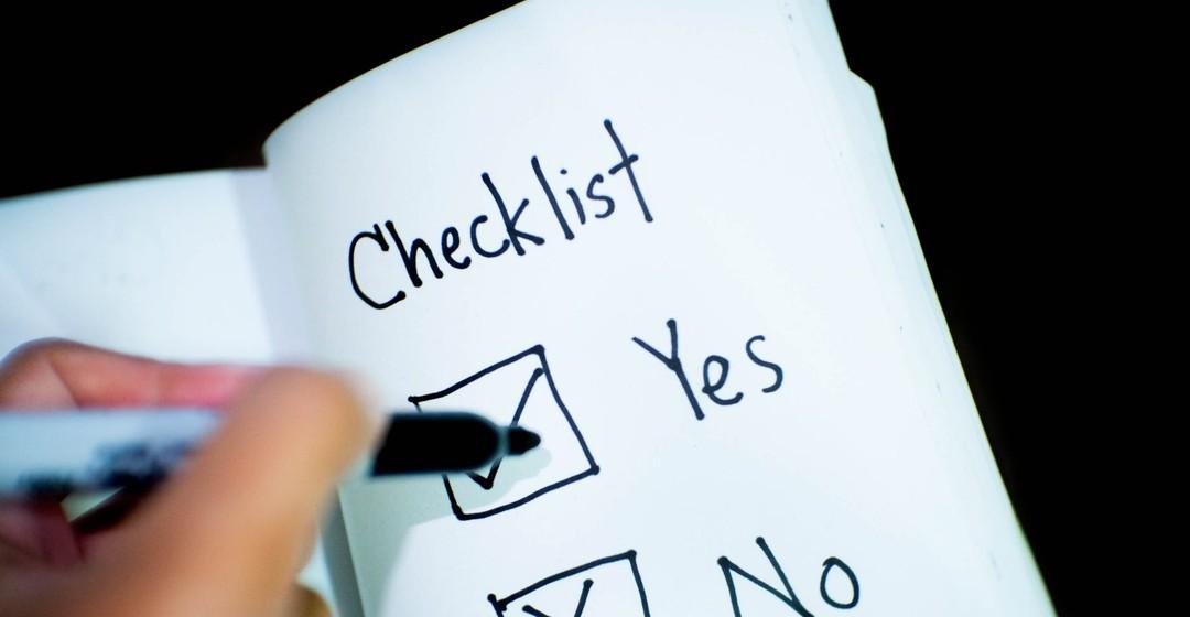 laundry basket checklist