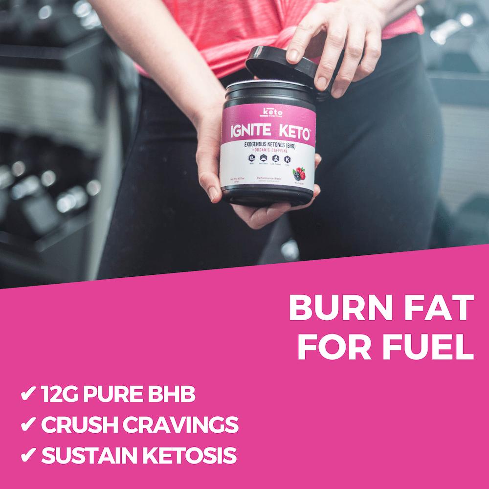 ignite keto bhb exogenous ketones enhance performance burn fat for fuel
