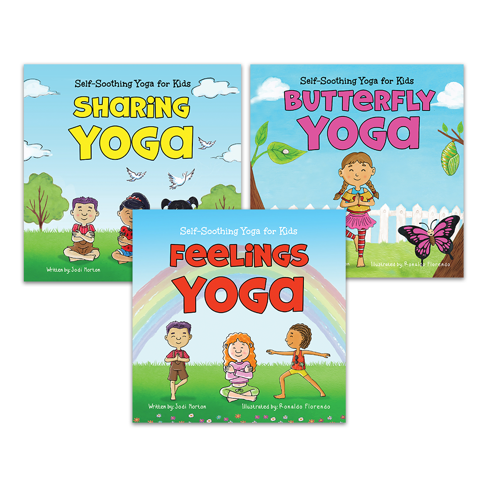 Self-Soothing Yoga for Kids: Complete Series (3 Books)
