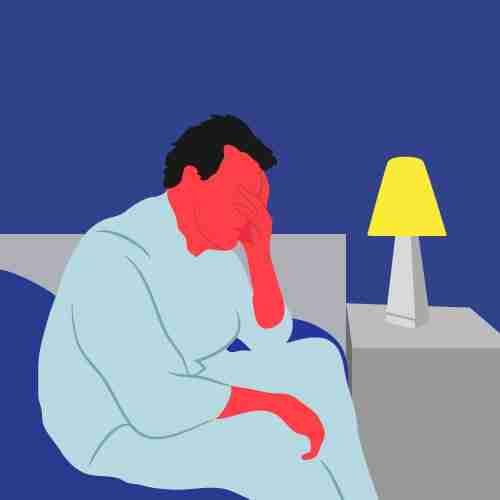 While alcohol can help you get to sleep… it makes it much harder for you tostayasleep. Ultimately, it's not worth it.