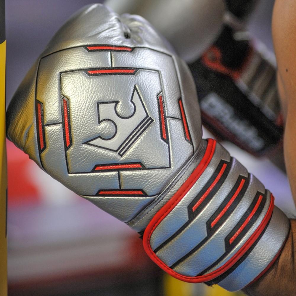 Muay Thai Kick Boxing Eskularruak Buddha Spider Future Silver
