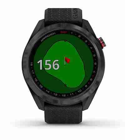 Garmin Approach S42 GPS Watch Green View