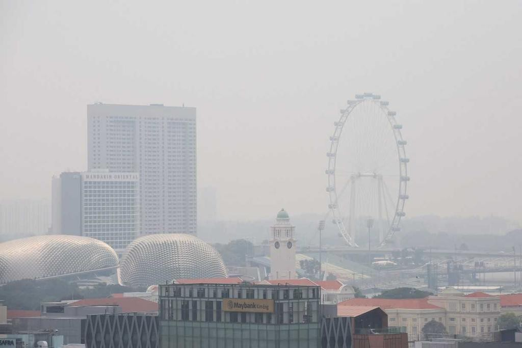 Haze in Singapore 2019
