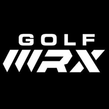 logo of Golf wrx magazine which has reviewed and recommended GForce 7iron and gforce wedge and voted it