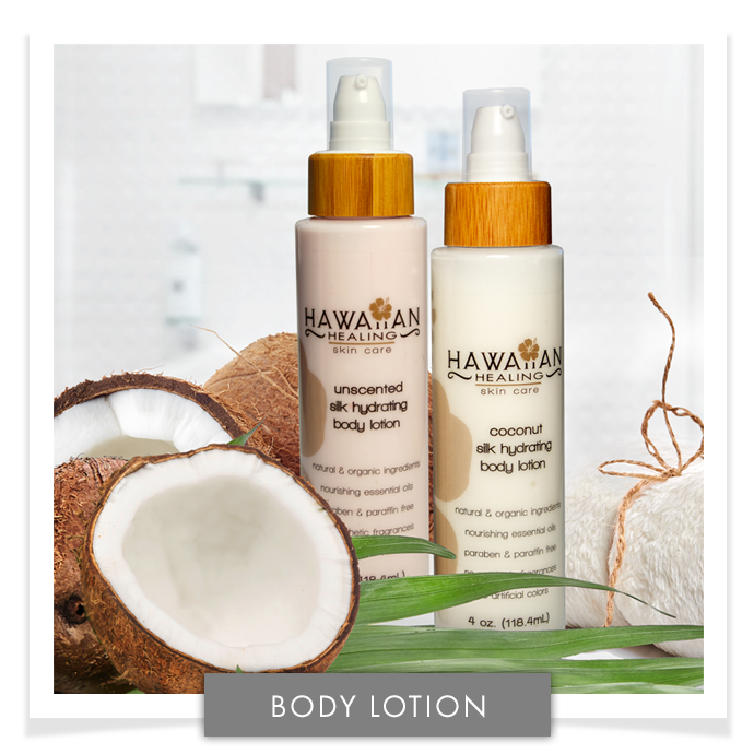 NEW Silk Hydrating Body Lotion Set (Coconut and Unscented)