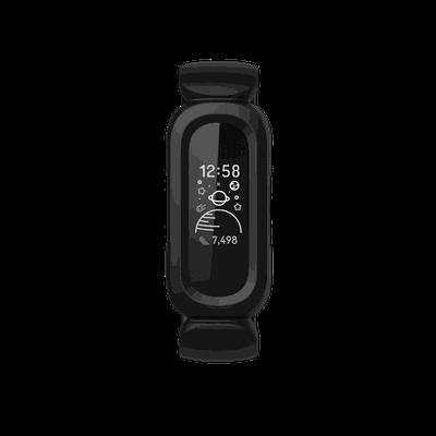 Fitbit Ace Black Front