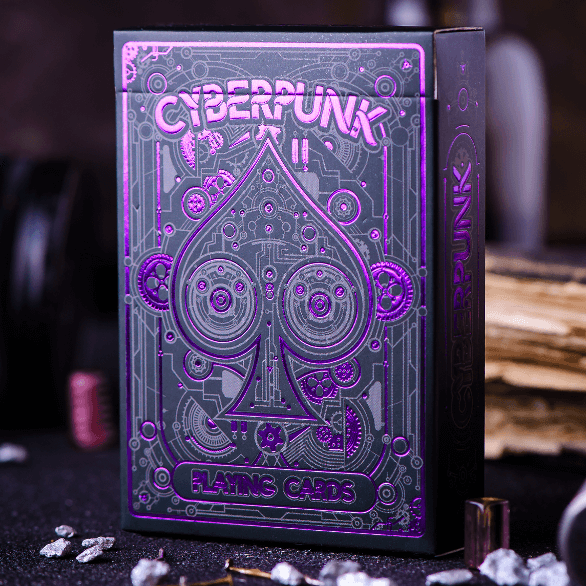 Cyberpunk Purple