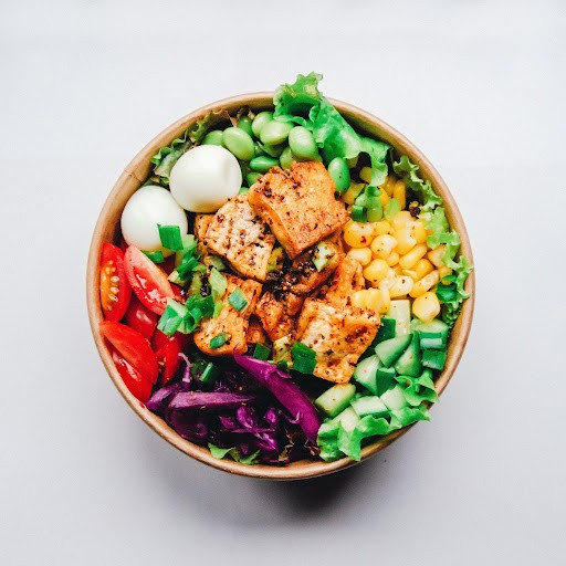 micronutrients in edamame tomatoes red cabbage salmon greens eggs