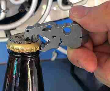 titanium bottle opener
