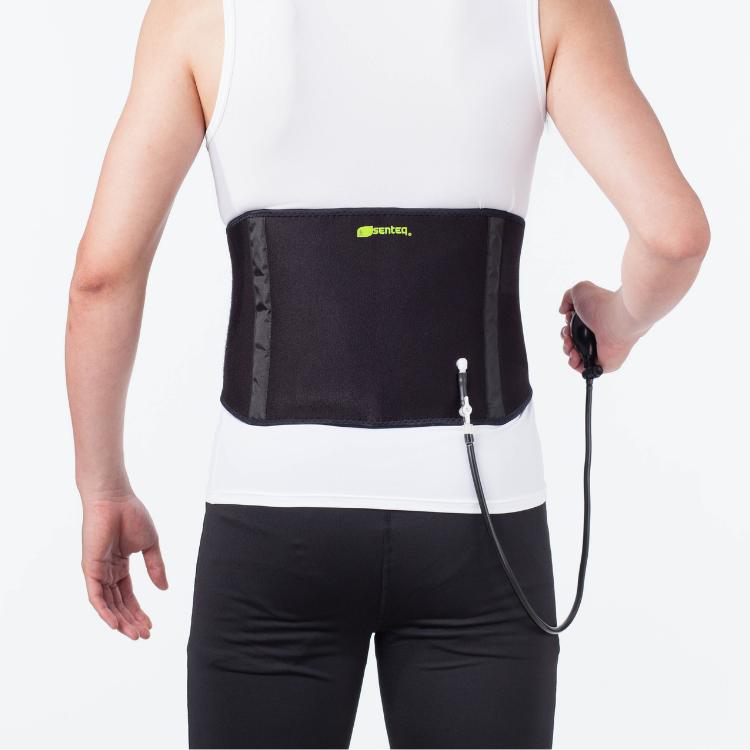 SENTEQ Aqua Heat Inflatable Lumbar Support - Self Heating Magnets & Tourmaline (SQ2-G014)